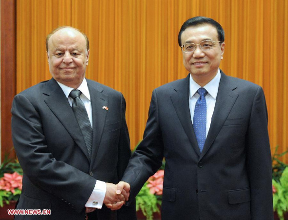 China, Yemen pledge to step up ties