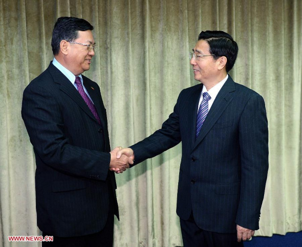 China, Myanmar to strengthen security cooperation